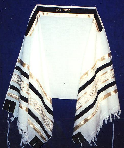 Black and Gold Tallit