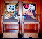 Bris Bima Chairs for Sandek and Elijah