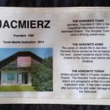 Jacmierz Poland Remembered dedication and history