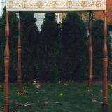 Cochin Freestanding Huppah with Hand Turned Poles
