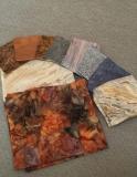 "Fabrics for ""Remember Holocaust"" Torah Mantle"