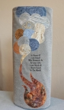 Completed Remember Holocaust Torah Mantle