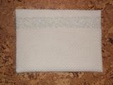 Ivory Lace Bag