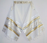 Silver and Gold Tallit