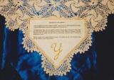 Custom Judaica Heirloom Tablecloth with Family Story