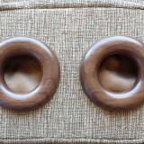Hand Turned Walnut Rings