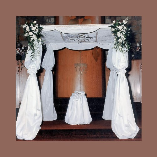 Scalloped Free Standing Huppah